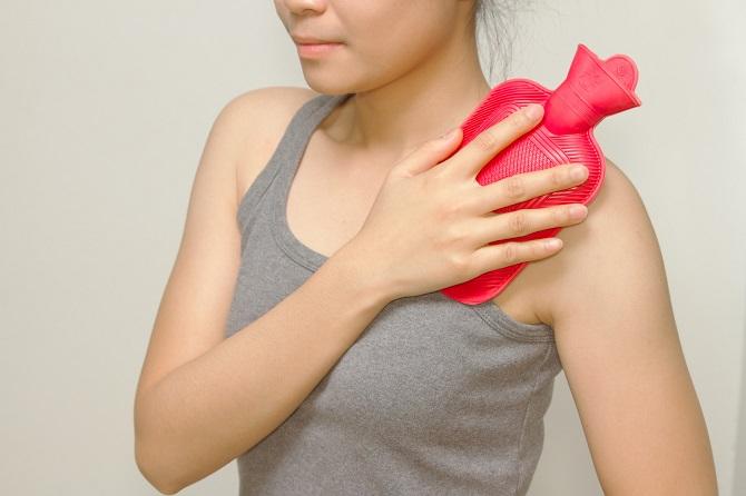 Caldo e dolori reumatici