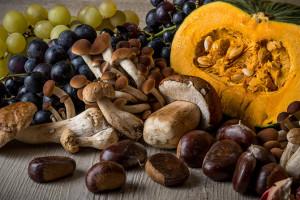 frutta e verdura in autunno