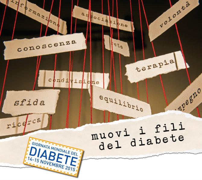 Giornata Mondiale del Diabete, 14 novembre 2015