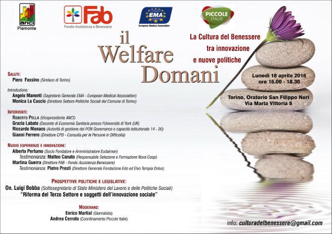 Il Welfare domani