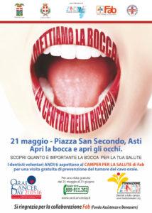 oral cancer day prevenzione