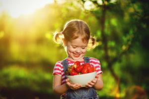 dieta estiva nei bambini