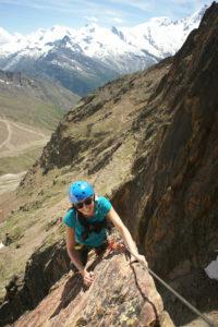 arrampicare in vacanza