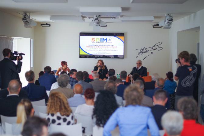 Grande partecipazione alla conferenza stampa SBiM 2016