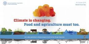 """""""Il Clima sta cambiando. Il cibo e l'agricoltura anche"""""""