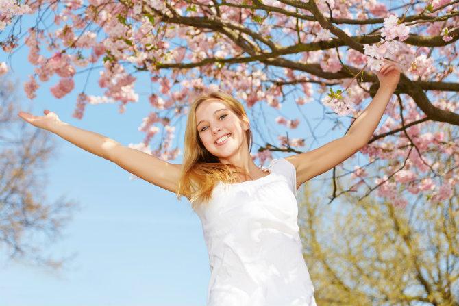 Stanchezza in primavera: l'aiuto delle cure naturali