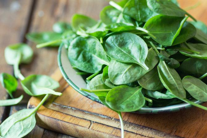 spinaci benefici