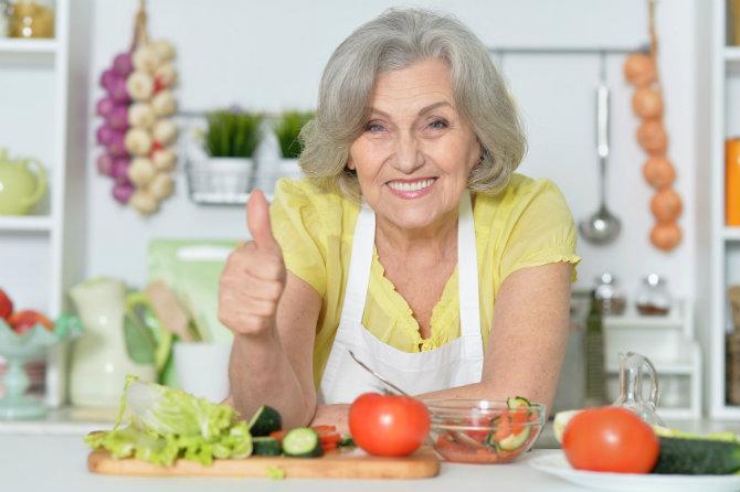 Alimentazione per anziani