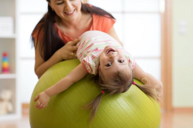 Corretta postura nei bambini
