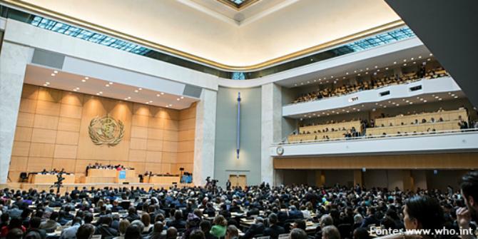 A Ginevra l'assemblea dell'OMS