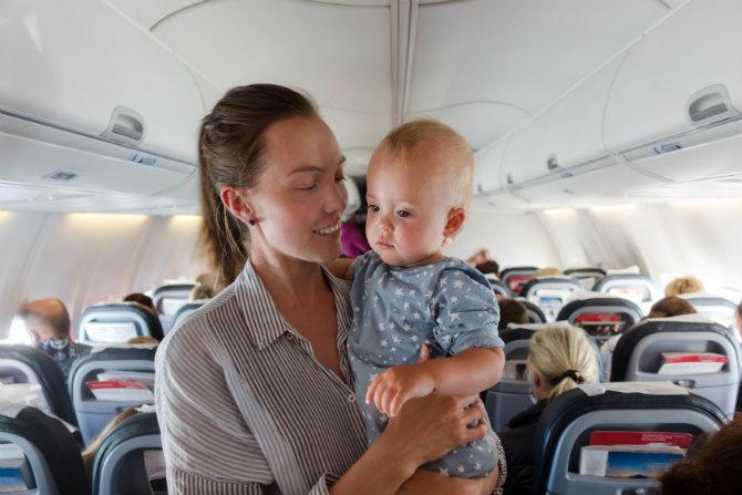 mal di orecchio in aereo
