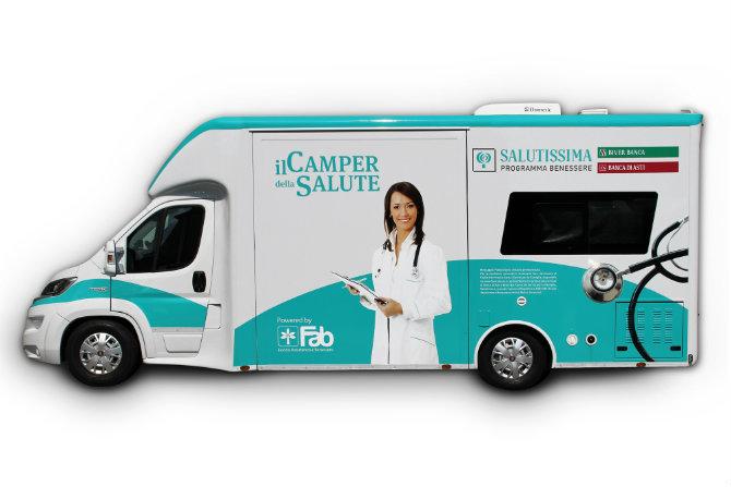 Camper della salute: gli appuntamenti di luglio