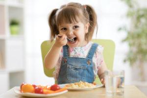 esempio dieta bambini