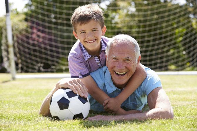 Nonni e sport