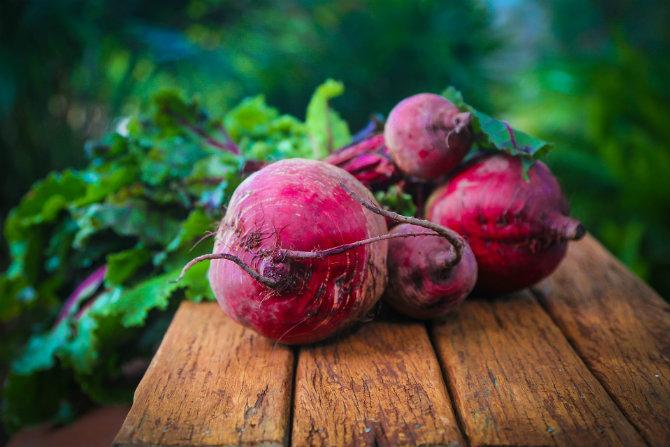 Ortaggio del mese: la barbabietola rossa