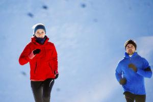 allenarsi all'aperto inverno