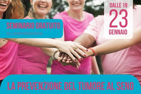 """Biella, seminario su """"La prevenzione del tumore al seno"""""""