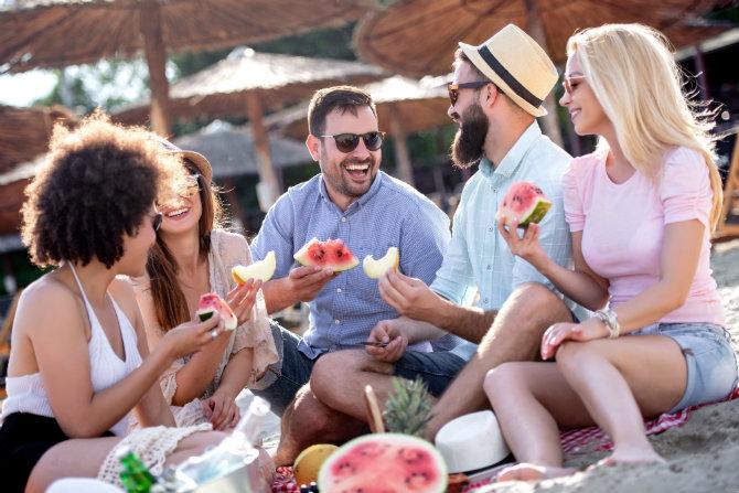 Estate: i consigli per mangiare sano in vacanza
