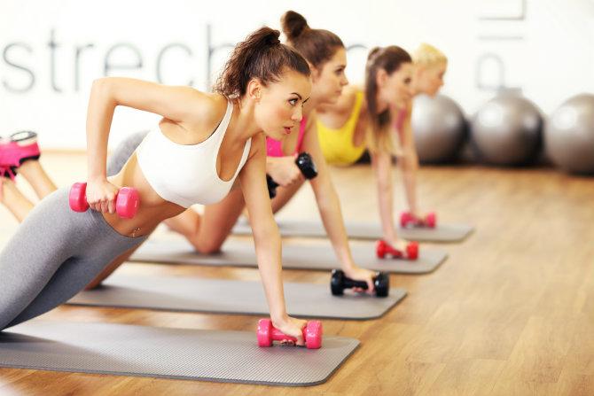 Body pump: tonificare e bruciare calorie in un'unica sessione