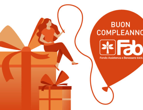 Fab SMS compie 9 anni