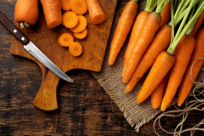 benefici delle carote